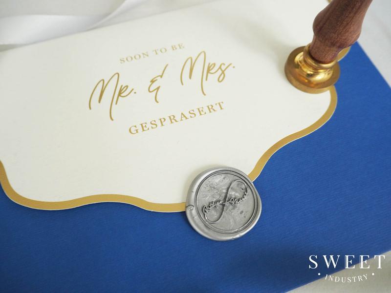 การ์ดแต่งงาน 5.3*7.5 นิ้ว ราคา 55 บาท