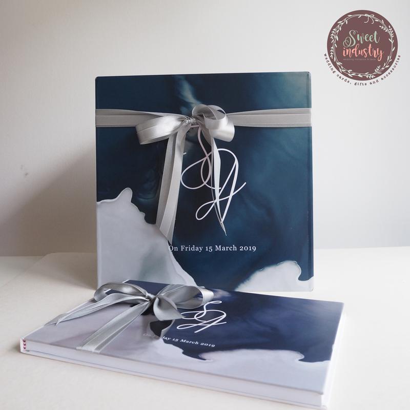 Set Promotion กล่องใส่ซอง+สมุดเซ็น ลายการ์ด ราคา 3,000 บาท